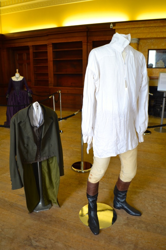 costumes from austen sandra tang chicest blog belsay hall mr darcy colin firth shirt pride and prejudice