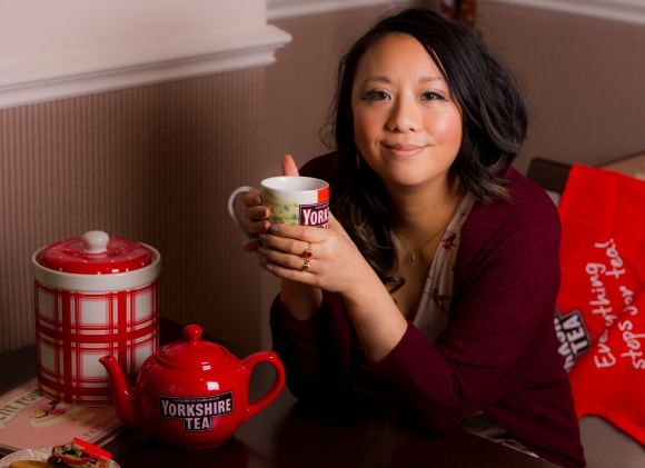 Yorkshire Tea Sandra Tang Chicest blog Tea Dress outfit